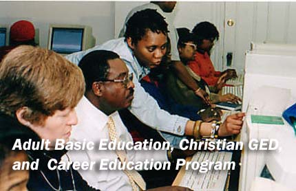 Adult Basic Education, Christian GED, and Career Education